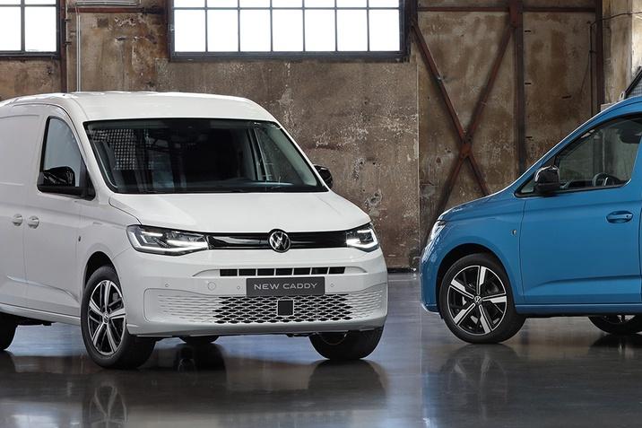 VW Caddy влиза във всяка роля