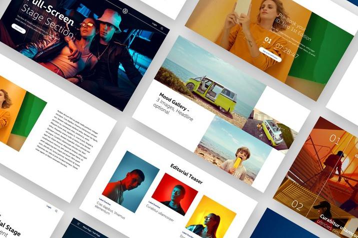 VW New Brand Design Website